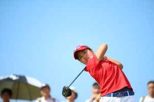 日本女子オープンゴルフ選手権を優勝した畑岡奈紗選手