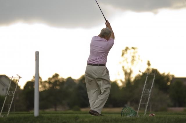 初心者ゴルファーに多いケガはどこの部分?