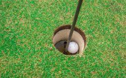 ラッキーもあるからゴルフは楽しい!プロトーナメントでのラッキーショット動画